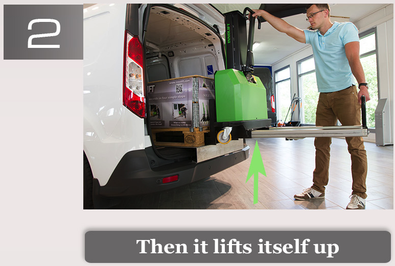Innolift Portable Self-Loading Forklift (Made in Finland) Step 2